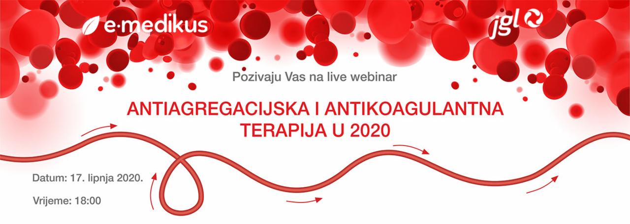 Antiagregacijska i antikoagulantna terapija u 2020.